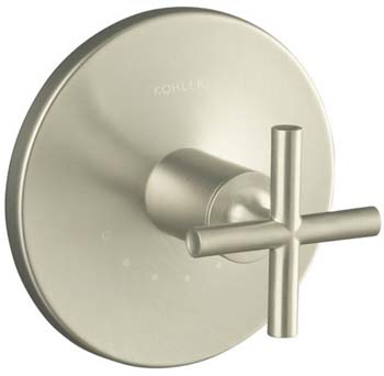 Kohler K-T14488-3-BN Purist One Handle Thermostatic Control Faucet Trim Kit - Brushed Nickel