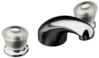 Kohler K-T15290-7-CP Two Handle Roman Tub Faucet Trim Kit - Polished Chrome