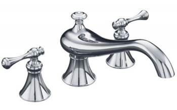 Kohler K-T16119-4A-CP Revival Two Handle Roman Tub Faucet Trim Kit - Polished Chrome
