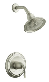 Kohler K-T396-4-BN One Handle Shower Only Faucet Trim - Brushed Nickel