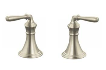 Kohler K-T413-4-BN Devonshire Two Handle Valve Only Trim Kit - Brushed Nickel