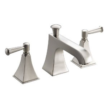 Kohler K-T428-4S-BN Memoirs Two Handle Deck-Mount High-Flow Bath Faucet Trim - Brushed Nickel