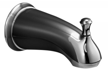 Kohler K-10281-4A-CP Forte Traditional Diverter Tub Spout - Polished Chrome