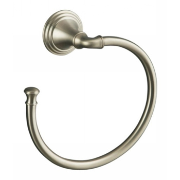 Kohler K-10557-BN Devonshire Towel Ring - Brushed Nickel