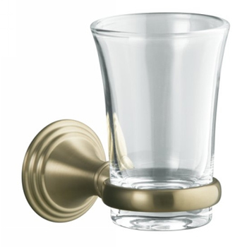 Kohler K-10561-BV Devonshire Tumbler and Holder - Vibrant Brushed Bronze