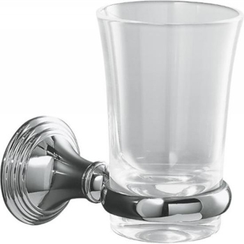 Kohler K-10561-2BZ Devonshire Tumbler and Holder - Oil Rubbed Bronze (Pictured in Chrome)