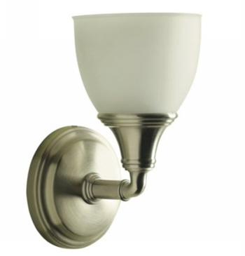 Kohler K-10570-BN Devonshire Single Light Sconce - Brushed Nickel