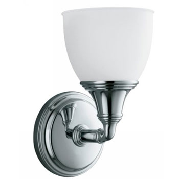 Kohler K-10570-CP Devonshire Single Wall Sconce - Polished Chrome