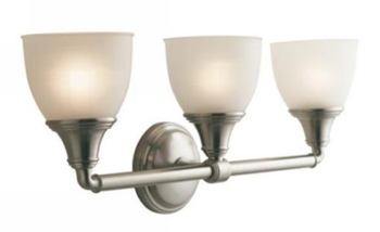 Kohler K-10572-BN Devonshire Triple Sconce - Vibrant Brushed Nickel