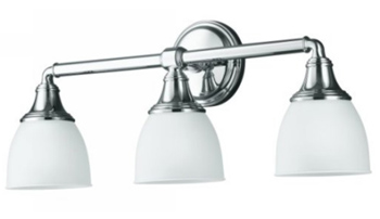 Kohler K-10572-CP Devonshire Triple Sconce - Polished Chrome