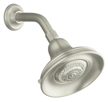 Kohler K-10591-BN Bancroft Multi-Function Showerhead Vibrant Brushed Nickel