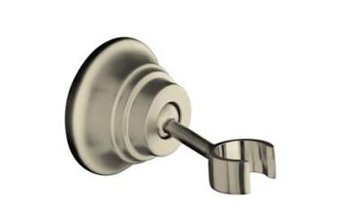 Kohler K10599BN Bancroft Wall-Mount Handshower Holder - Vibrant Brushed Nickel