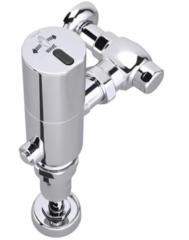 Kohler K10677CP Wave 1.6 GPF Exposed Toilet Retrofit Flushometer - Polished Chrome