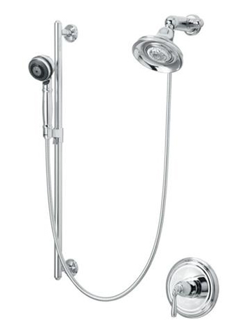 Kohler K108254CP Devonshire Essentials Performance Showering Package - Polished Chrome