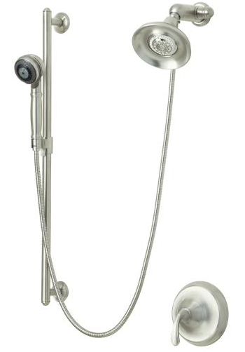 Kohler K-10827-4-BN Forte Essentials Performance Showering Package - Vibrant Brushed Nickel