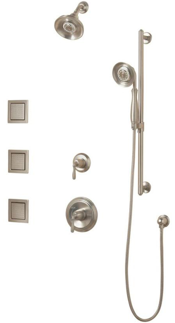Kohler Faucet K108554BN Devonshire Luxury Performance Showering Package - Brushed Nickel