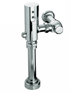 Kohler K10956CP 1.28 GPF/4.85 LPF Touchless DC Toilet Flushometer With Tripoint Technology - Polished Chrome