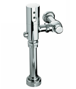 Kohler K10957CP 1.6 GPF/6.0 LPF Touchless DC Toilet Flushometer With Tripoint Technology - Polished Chrome