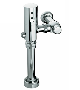 Kohler K10958CP 0.5 GPF/1.9 LPF Touchless DC Washout Urinal Flushometer With Tripoint Technology - Polished Chrome
