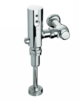Kohler K10960CP 1.0 GPF/3.8 LPF Touchless DC Washout Urinal Flushometer With Tripoint Technology - Polished Chrome