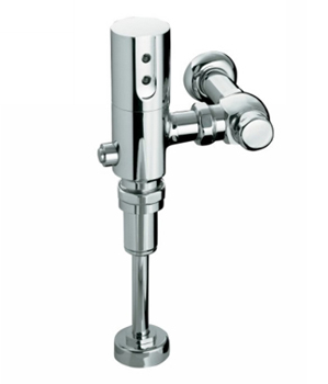 Kohler K10961CP 1.0 GPF/3.8 LPF Touchless DC Siphon Jet Urinal Flushometer With Tripoint Technology - Polished Chrome
