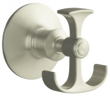 Kohler K11055BN Archer Robe Hook - Vibrant Brushed Nickel