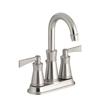 Kohler K-11075-4-BN Archer Lavatory Faucet With 4