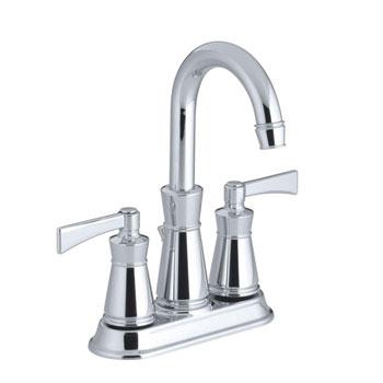 Kohler K-11075-4-CP Archer Lavatory Faucet With 4