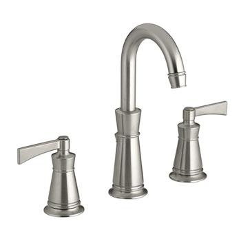 Kohler K-11076-4-BN Archer Lavatory Faucet With 8