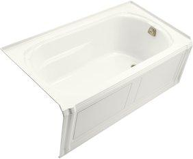 Kohler K1108RAWH Portrait 5' Bath With Integral Apron Tile Flange And Right-Hand Drain - White