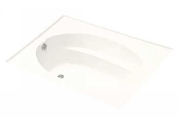 Kohler K-1113-F-0 Windward 5' Bath With Tile Flange - White