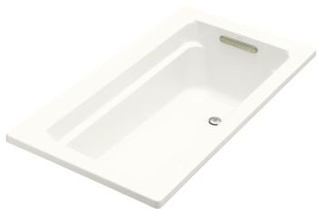 Kohler K-1123-0 Archer 5' Bath With Comfort Depth Design - White