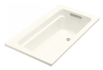 Kohler K-1123-96 Archer 5' Bath With Comfort Depth Design - Biscuit
