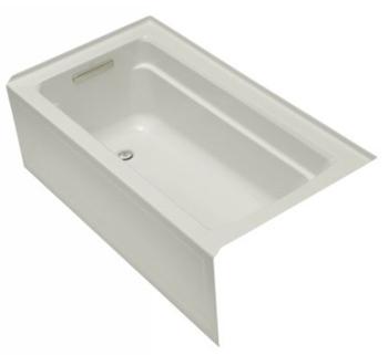 Kohler K 1123 La 95 Archer 5 Bath With Integral Apron