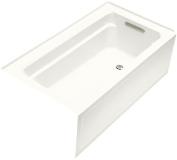 Kohler K-1123-RA-0 Archer 5' Bath With Integral Apron And Right-Hand Drain - White