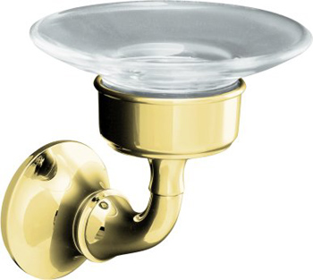 Kohler K11280AF Forte Soap Dish - French Gold