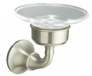 Kohler K11280BN Forte Soap Dish - Brushed Nickel