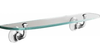 Kohler K11283CP Forte Glass Shelf - Polished Chrome