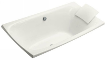 Kohler K-11343-0 Escale Drop-In Bath In White