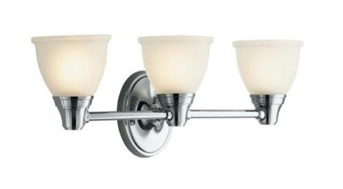 Kohler K-11367-CP Forte Classic Three Light Wall Sconce - Polished Chrome