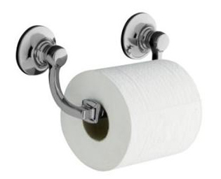 Kohler K-11415-SN Bancroft Toilet Tissue Holder - Vibrant Polished Nickel