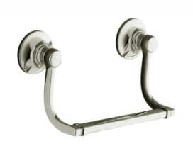 Kohler K-11416-SN Bancroft hand Towel Holder - Vibrant Polished Nickel