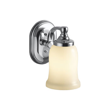 Kohler K-11421-CP Bancroft Single Light Wall Sconce - Polished Chrome