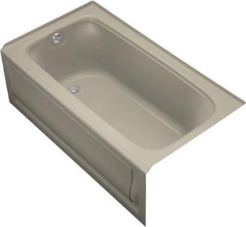 Kohler K-1150-LA-G9 Bancroft ? 5' Bath With Integral Apron - Sandbar