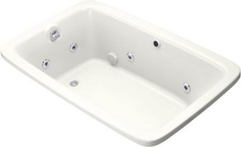 Kohler K-1158-H2-0 Bancroft 5.5' Whirlpool - White