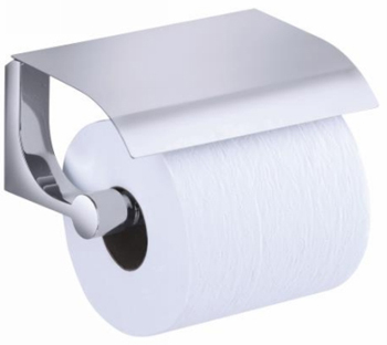 Kohler K-11584-CP Loure Covered Toilet Tissue Holder - Polished Chrome