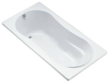 Kohler K 1159 0 Proflex 6 Foot Drop In Soaking Tub With