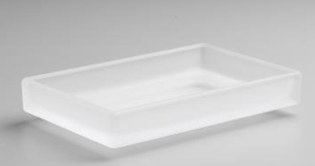Kohler K-11595-FRG Loure Soap Dish - Frosted Glass