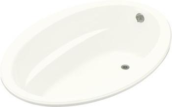 Kohler K-1163-0 Sunward 5' Oval Bath - White
