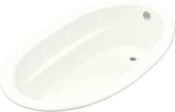 Kohler K-1165-0 Sunward 6' Oval Bath - White